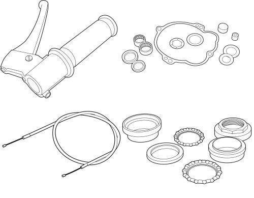 Mechanical parts Vespa Ciao