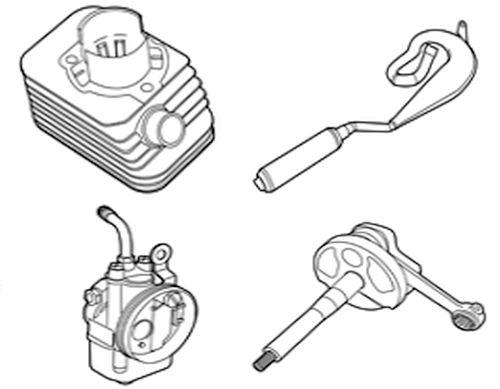 Gilera Citta - Carburettors, Cylinders, Clutch Parts, Crankshafts & More