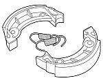 Brake shoes, brake pads. Honda MT, MB, MTX, NSR, MBX & MTX-SH