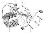 Kreidler 5 Gear Direct Kickstart