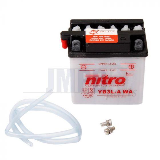 Battery Honda NSR/MBX/MTX SH 12 Volt Without acid
