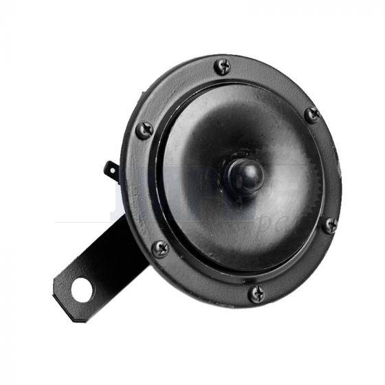 Horn 12 Volt Direct Current Big Black