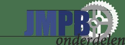 Emblem Headlight house Puch Brass