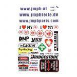 Stickerset JMPB Kreidler