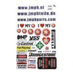 Stickerset JMPB Yamaha