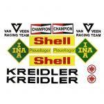 Stickerset Van Veen Racer Complete