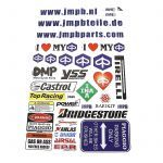 Stickerset JMPB Piaggio