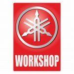 Workshop Sticker Yamaha English