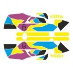 Stickerset Gilera Citta Funny Yellow