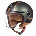 Helmet Jet Street Entire MT Matt Brown/Green