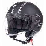 Helmet Jet Street Entire MT Matt Black