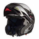 Helmet System MT Atom Transcend SV Black Gloss/Matt Grey