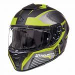 Helmet Integral MT Blade II Blaster Matt Fluor Yellow