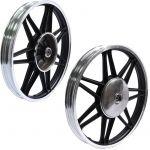 Star wheel set Front & Rear Kreidler 160MM