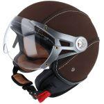 Helmet Jet Soul Retro MT Brown