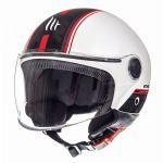Helmet Jet Street Entire MT White/Red