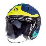 Helmet Jet Avenue Crossroad MT Blue/Green