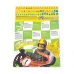 "Poster Kreidler ""Fahr wie ein Weltmeister"" Reprint"