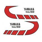 Stickerset Yamaha Trial 50