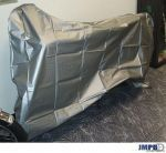 Moped cover Silver