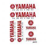 Stickerset Yamaha Racing Big - 6 Pieces