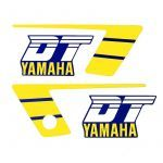 Stickerset Yamaha DT50MX Yellow/Blue