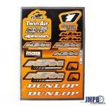 Stickerset Twin Air / KTM