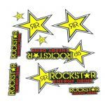 Stickerset Rockstar Energy Big