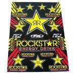 Stickerset FX Rockstar Energy 50X35CM