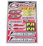 Sponsorkit Renthal/Bridgestone