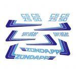 Stickerset Zundapp Sprinter - White Version