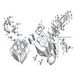 Cylinder / Manifold Honda MT50
